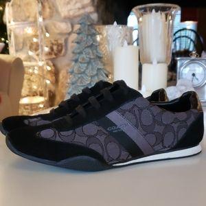 Black Coach Shoes size 10